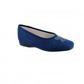 Ballerine Eval- Bleu foncé